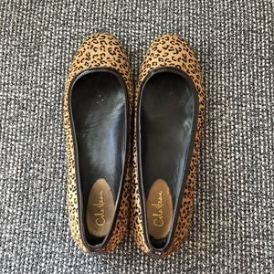 Cole Haan Shoes - Cole Haan Leopard Ballet Flats Nike Air Collab 9.5